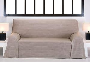 Foulard multiuso 135 cm beige crudo per divano o letto 60 cotone 40 poliestere - Divano profondo 60 cm ...