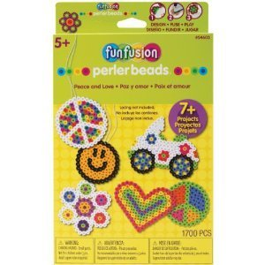 Dimensions/Novacon Perler Educational Products - Funfusion Perler Beads Kit Peace And Love - 54603 - Dimensions/Novacon Perler Educational Products - Funfusion Perler Beads Kit Peace And Love - 54603