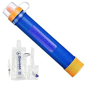 Mini Tragbarer Persönlicher Wasserfilter Wasseraufbereitung Wasserreiniger für Wandern, Trekking, Camping, Reisen