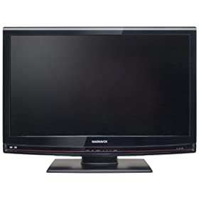 Magnavox 32MD350B/F7 32-Inch 720p LCD HDTV with Built in DVD player, Black