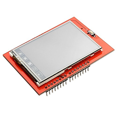 Lucksender 2.4 Inch Tft Lcd Shield Touch Board Display Module For Arduino Uno