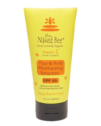 vitamin a sunscreen Discount The Naked Bee Vitmin C Moisturizing Sunscreen SPF 30