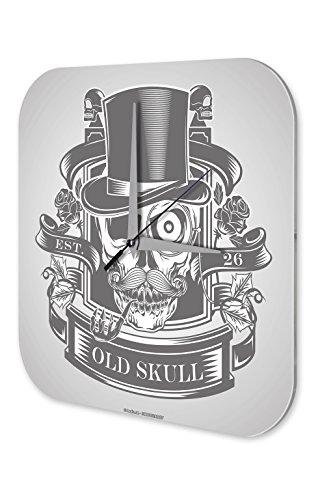 Orologio da parete Fantasy Old Skull Decorazione Plexiglas
