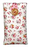 Padded Case Sleeve for iPhone 4 4s Made in Cath Kidston Hampton Rose