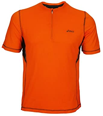 Buy Asics Mens Tri 1 4 Zip Short Sleeve by ASICS