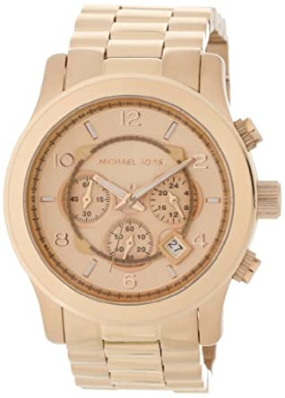 Michael Kors Men's MK8096 Runway Rose-Tone Watch