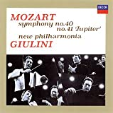 モーツァルト:交響曲第40&41番「ジュピター」