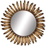 The Radiating Metal Wall Mirror