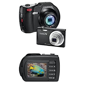 SeaLife DC1400 14MP HD Underwater Digital Camera Waterproof