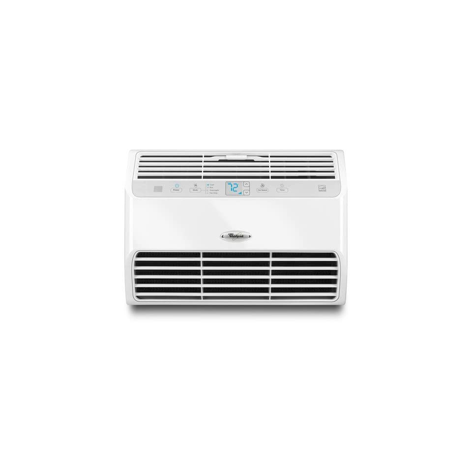 Whirlpool 12,000 BTU Energy Star Room Air Conditioner, White, W5WCE085XW