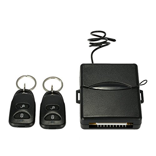 Docooler Car Remote Central Lock Locking Keyless Entry System with Remote Controllers (Car Add On Wiring compare prices)