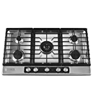 Big Sale Best Cheap Deals Kitchenaid KFGU766VSS 5 Burners Stainless Steel Clear Coat Surface Architect Series II