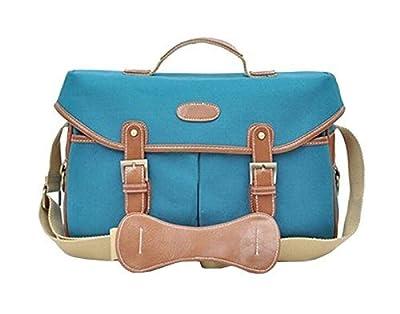 Camera Bag,Canvas + Faux Leather Large DSLR Camera Gadget Lens Shoulder Bag for Canon Nikon EOS Sony Pentax