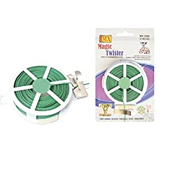 MX Magic Twister - Twist Tie Dispenser with Cutter - 50m - Set of 3