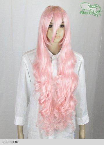 スキップウィッグ 魅せる シャープ 小顔に特化したコスプレアレンジウィッグ ドーリィロング ベビーピンク
