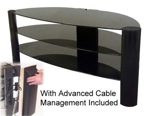 ZIN 421088/BKBI Black TV Stand 42 - 50