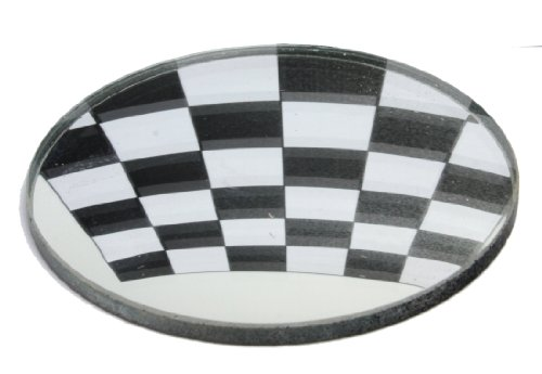 American Educational Convex Glass Mirror, 50mm Diameter, 10cm Focal Length (Bundle of 5)