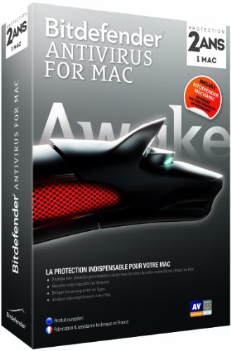 Bitdefender Antivirus 2014 pour Mac (2 ans)