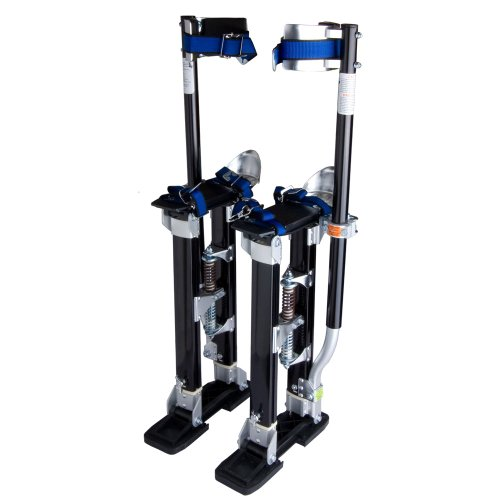 """Brand New Drywall Stilt Adjustable 24"""" To 40"""" With Eye Catching Design In Bright Black"""