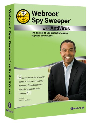 Webroot Spy Sweeper With Antivirus 3-PC