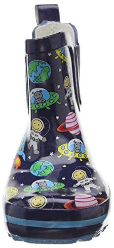 BECK Space, Jungen Kurzschaft Gummistiefel, Blau (dunkelblau / 05), 22 EU -