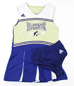 Buy adidas Washington Huskies Youth Cheerleader Dress with Bloomers by adidas