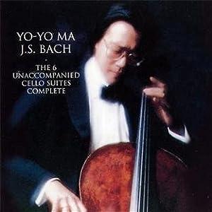 The 6 Unaccompanied Cello Suites Complete from Yo-Yo Ma J.S. Bach