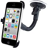 Accessory Village In Car Windscreen Suction Holder Mount for The iPhone 5C With Full 360 Degrees Rotation