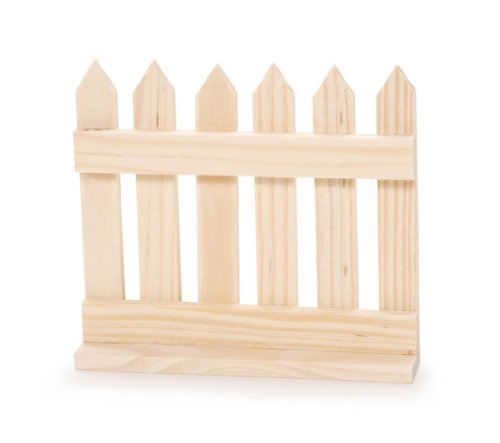 Darice 9134-41 Picket Fence Model, 4-3/4-Inch