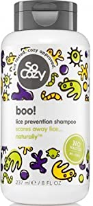 SoCozy Boo! Lice Prevention Shampoo, 8 Fluid Ounce