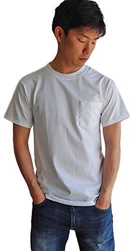 (ヘインズ) HANES BEEFY TEE POCKET ヘインズ ポケットTシャツ 5190p ホワイト XL [並行輸入品]
