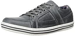 Steve Madden Men\'s Regent A Fashion Sneaker, Grey, 9 M US