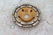 buy Temo 5 Inch Diamond Coated Grinding Disc Wheel Blade 2 Row