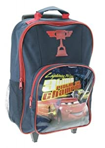 Trade Mark Collections Disney Cars Piston Cup Wheeled Bag