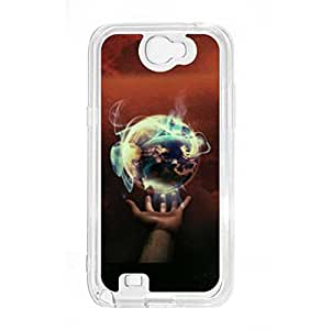 a AND b Designer Printed Mobile Back Cover / Back Case For Samsung Galaxy Note 2 (SG_N2_2767)