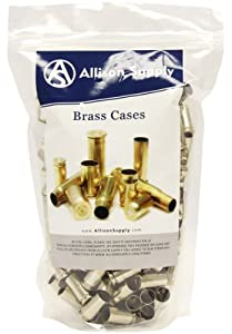 200 Cases of Once-fired .40 S&W Nickel-plated Brass for Reloading - Processed