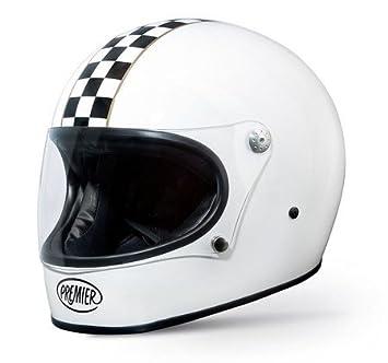 Premier trophy style helmet t9BM grande taille l (noir/blanc)