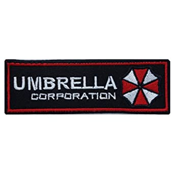 Resident Evil Rectangle Size Umbrella Corporation Logo Patch