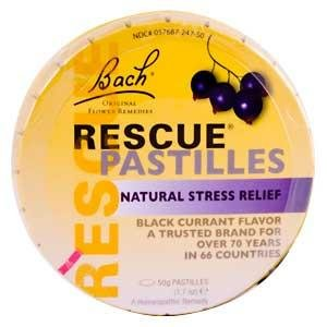 Bach Flower Remedies Rescue® Pastilles Black Currant — 50 Pastilles
