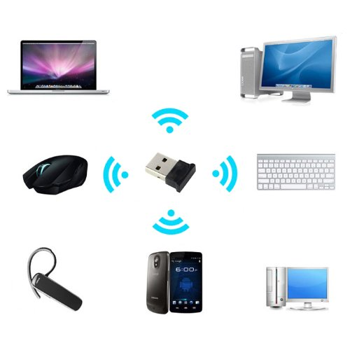 Usbmini Bda-40 Bluetooth Dongle-Bluetooth Adapter. A Usb Bluetooth Adapter For Pc With Bluetooth 4.0 Version Utilizing Csr Chip Technology To Connect Bluetooth Enabled Headsets-Speakers-Androids-Ipod-Iphone-Printers-Keyboard-Mouse And Bluetooth Camera.Thi
