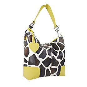 women purse fashion casual hobo tote handbag giraffe animal bag (Many Colors Available!!)
