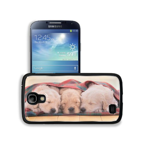 Puppies Dogs Sleeping Pets Animal Blanket Samsung Galaxy S4 Snap Cover Aluminium Design Back Plate Case Customized Made To Order Support Ready 5 3/16 Inch (132Mm) X 2 13/16 Inch (71Mm) X 4/8 Inch (12Mm) Liil Galaxy_S4 Professional Metal Cases Touch Access front-949340