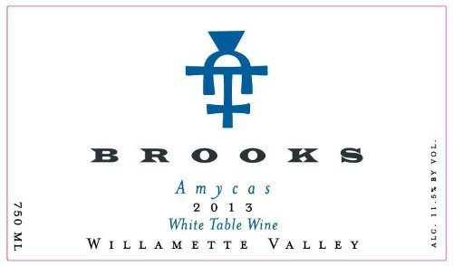 "2013 Brooks ""Amycas"" White Table Wine 750 Ml"