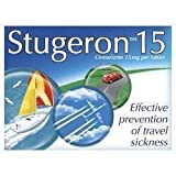 STUGERON CINNARIZINE 15MG PER 100 TABLET ALSO CONTAINS LACTOSE AND SCROSE - 100 TABS