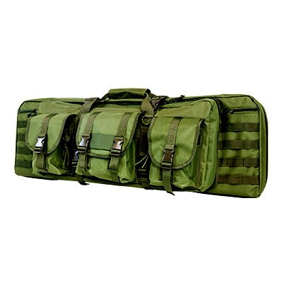 Double Carbine/Rifle/Shotgun Case By NcStar/Vism (Green, 36) (Tactical Gun Case For Ar 15 compare prices)