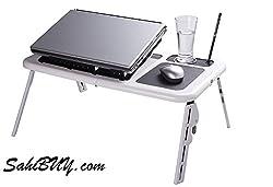 SahiBUY Foldable & Portable Laptop E-table
