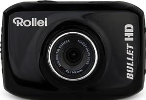 Rollei Bullet Youngstar Action Camcorder mit HD (135° Weitwinkel-Objektiv, bis 10m, wasserdicht) schwarz