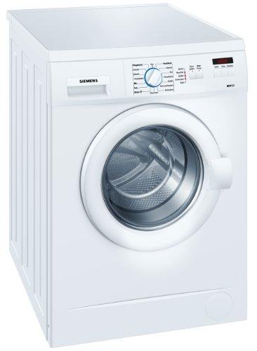 Siemens WM12A223 Frontlader Waschmaschine / AA / 1200 UpM / 5 kg / weiß / Wolle-Handwäsche-Programm / AquaStop-Schlauch