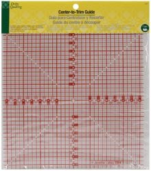 Dritz Quilting Center To Trim Guide 8 1/2