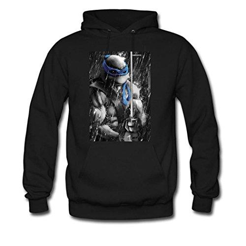 DIYHOODIE Teenage Mutant Ninja Turtle Hoodie, Custom Men's Classic Hoodie with Teenage Mutant Ninja Turtle Black (Ninja Custom compare prices)